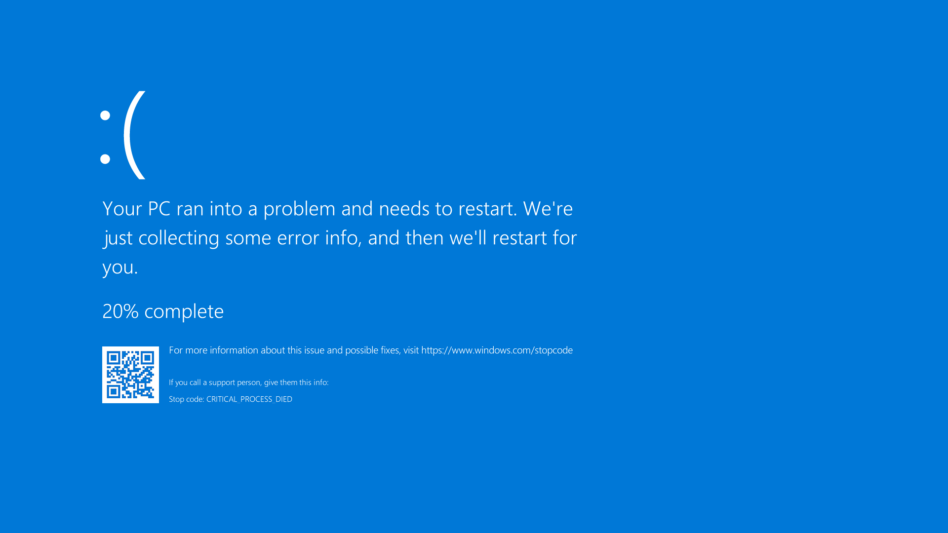blue screen ویندوز